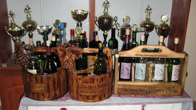 Photo: Pięknie podane wina