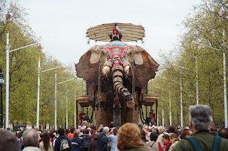 Photo: Sultan's Elephant. The Mall, London