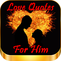 Love Quotes For Him icon