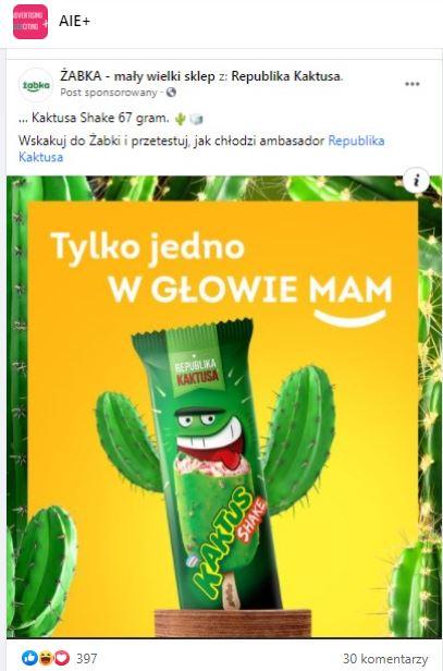 Real Time marketing Żabki