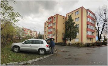 Photo: Calea Victoriei, Bloc B15 - Alee de acces la blocuri - 2017.11.19