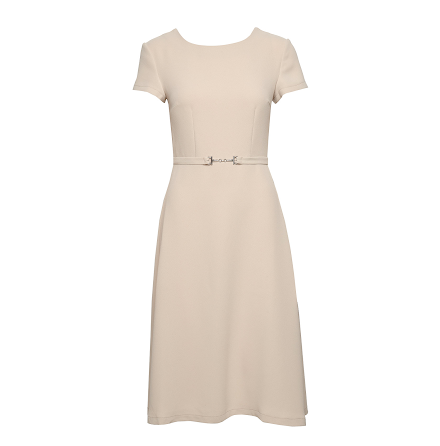 Monique Dress, beige