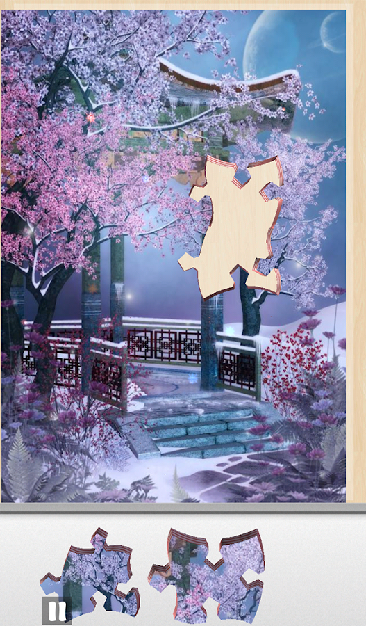 Live Jigsaws - Winter Spring- screenshot