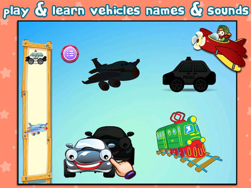Vehicle Shapes Puzzle for Kids