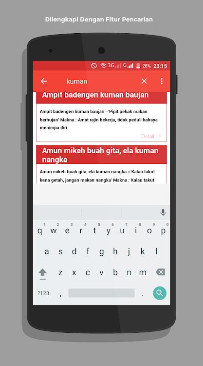 Kamus Dan Pepatah Dayak Ngaju Android Sovellukset Appagg