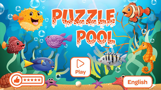 Puzzle Pool - Free Jigsaw Puzzle Game for Kids 1.2 screenshots 1