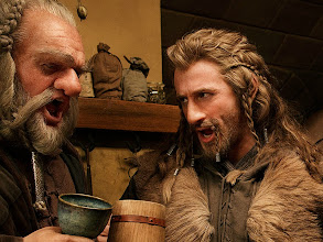 Photo: Dori and Fili at Bag End.