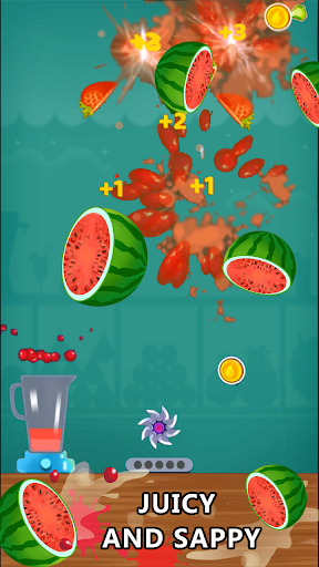 Crazy Juicer - Slice Fruit Game for Free  captures d'écran 2