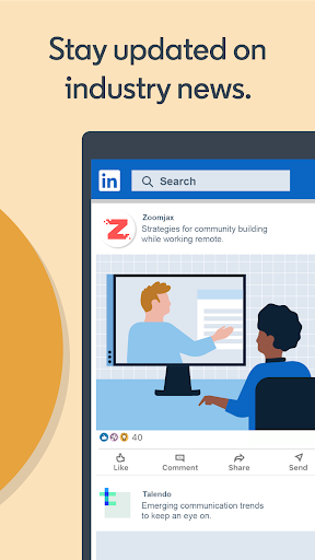 LinkedIn: Jobs, Business News & Social Networking 4.1.483.1 Screenshots 7