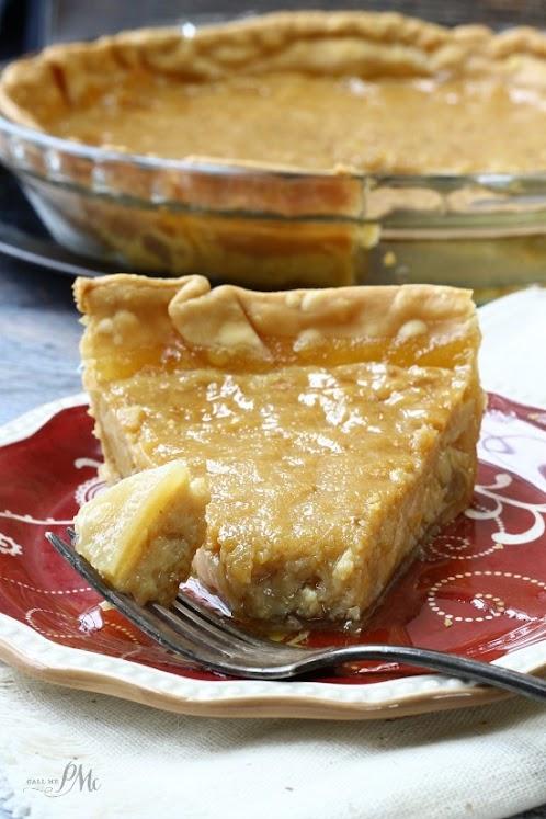 Old-Fashioned Sugar Pie Recipe