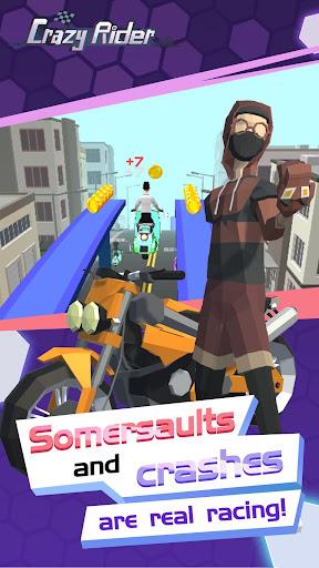 Crazy Rider  captures d'écran 2