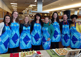 Photo: Disclosure: I am associated with Pillsbury through this amazing event. Pillsbury paid for my expenses and provided me with Pillsbury Dough Products to use while at General Mills. All opinions are 100% my own.  Last month, I had the pleasure of visiting the General Mills International Headquarters with a group of fellow foodie bloggers. Half of our day was spent in the Pillsbury Test Kitchens. Here are the amazing bloggers that I got to do some baking with. (photo courtesy of Jocelyn from Grandbaby Cakes)