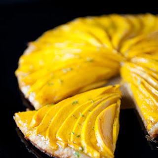 Mango Tart with Lime.