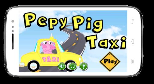 Pepy Pig Taxi