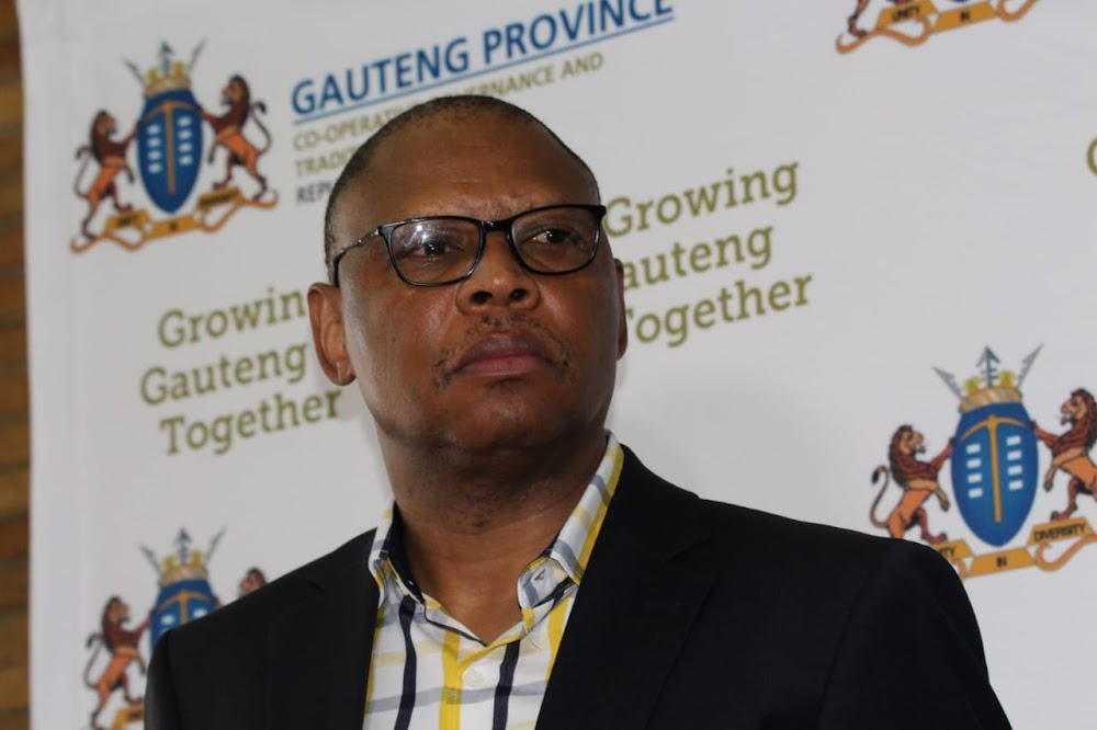Gauteng Cogta MEC Maile announces Covid-19 death of department head - TimesLIVE
