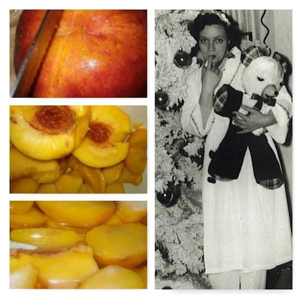 Mama's Frozen Peaches Recipe