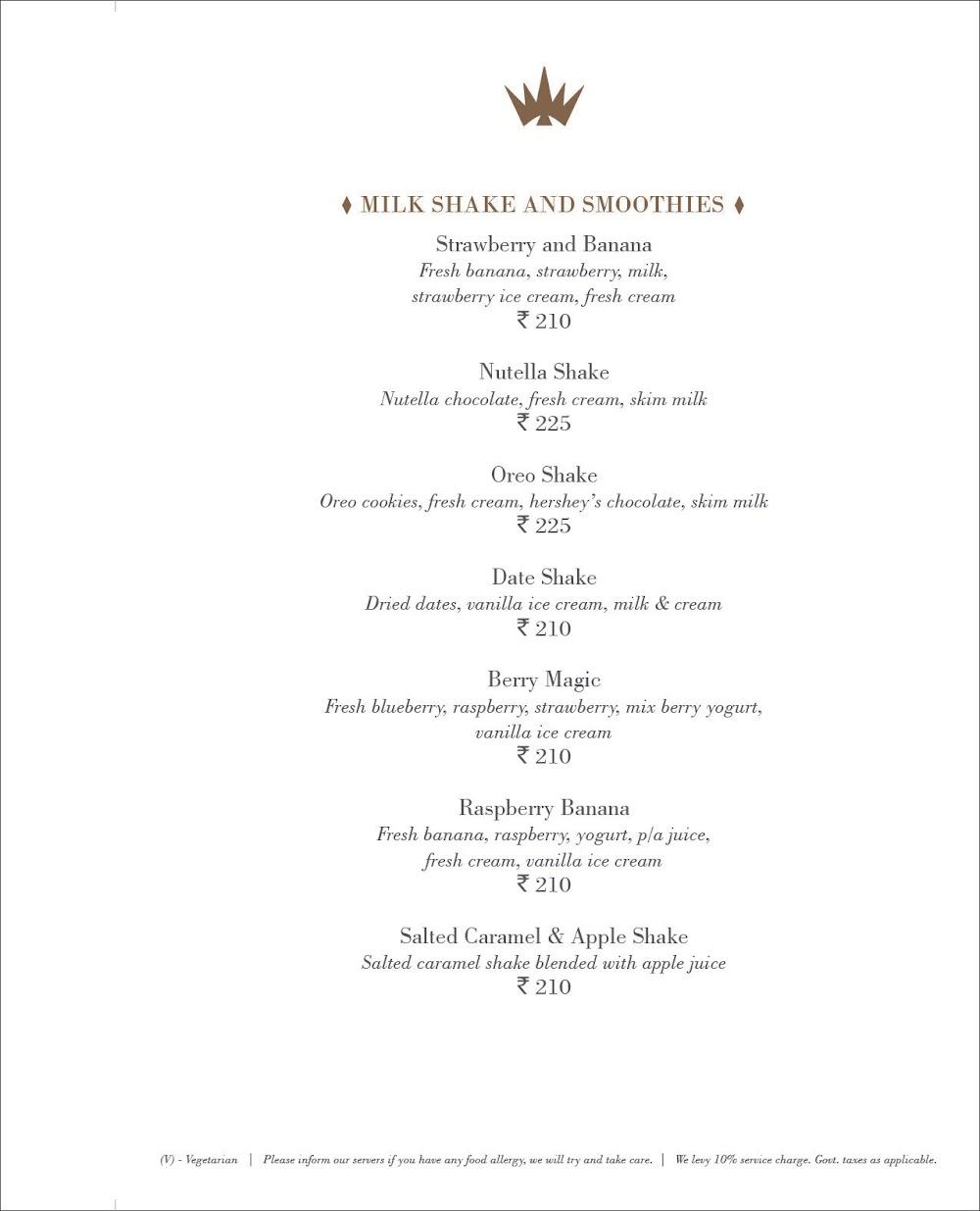 Pranzi menu 21