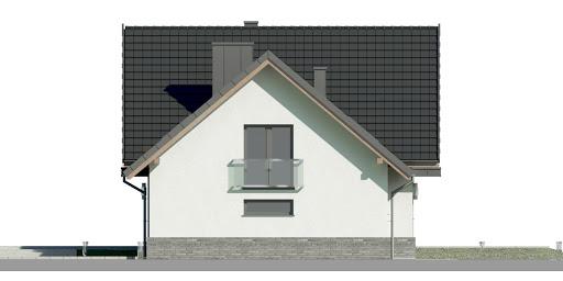 Dom przy Cyprysowej 15 DN2 - Elewacja prawa