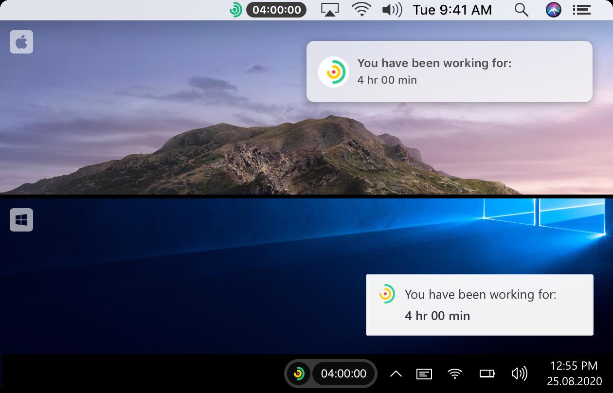Traqq -  smart time tracking app