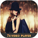 7X video player icon