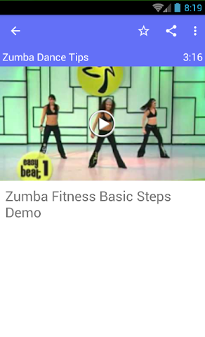 android Zumba Dance Tips Screenshot 2
