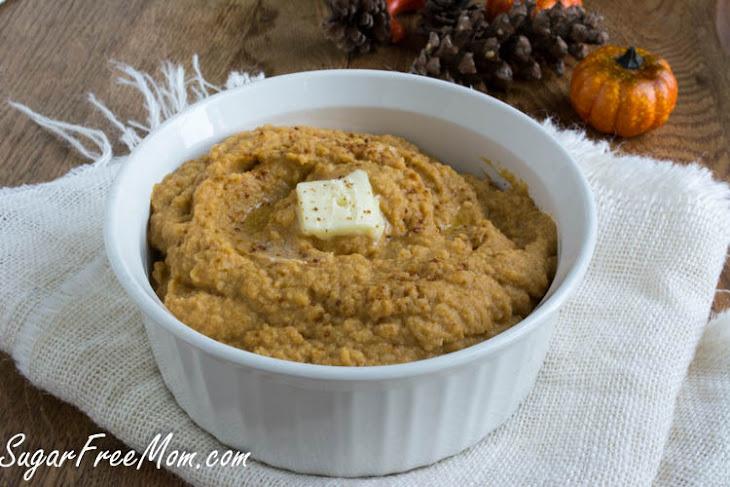 Low Carb Pumpkin Cauliflower Mash Recipe