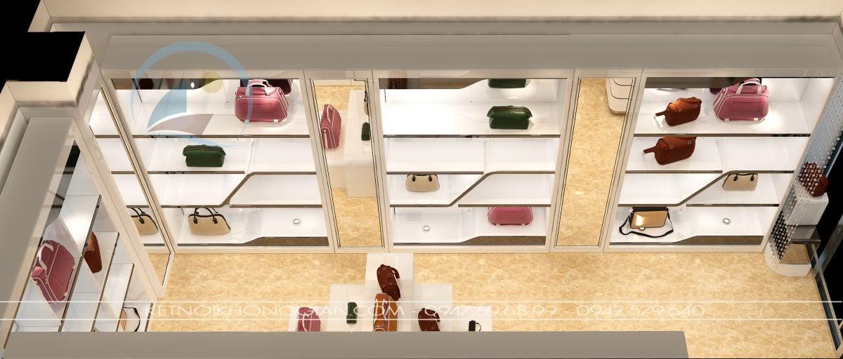 thiết kế shop túi xách 4