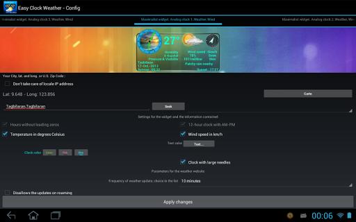 EasyClockWeather screenshot 10
