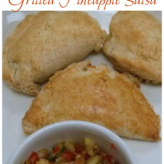 Empanadas with Grilled Pineapple Salsa
