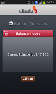 Al Baraka Sudan Mobile Payment- screenshot thumbnail