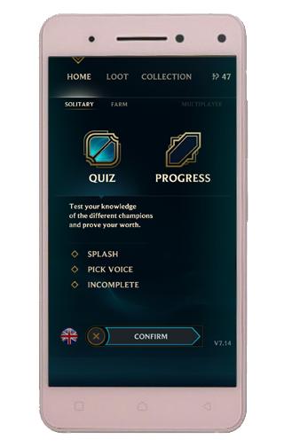 Quiz of League of Legends screenshots 1