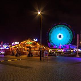 Liverpool at night by Katarzyna Najderek - City,  Street & Park  Night