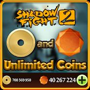 Gems for Shadow Fight 2 prank APK icon