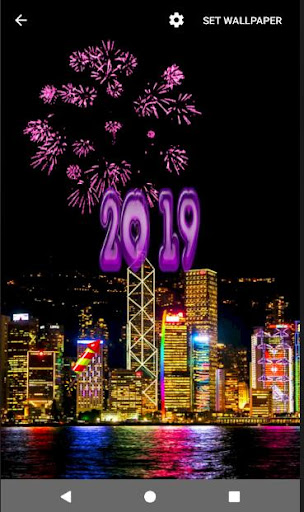 4D Happy New Year 2019 Live Wallpaper 1.0 screenshots 19