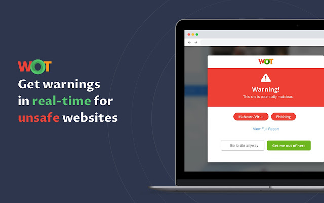WOT Web of Trust, Website Reputation Ratings