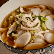 Shanghai Soup Rice Cake (Chicken)