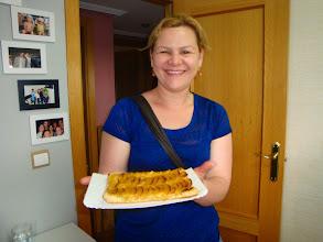Photo: Maira y su tarta