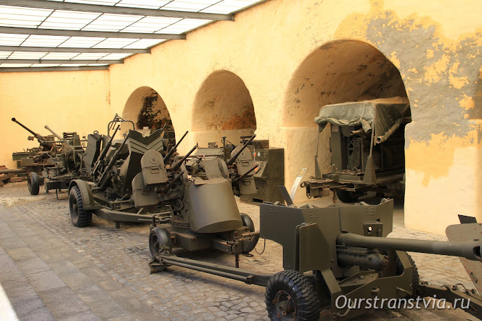 Военный музей в крепости Понта Делгада, Азорские острова