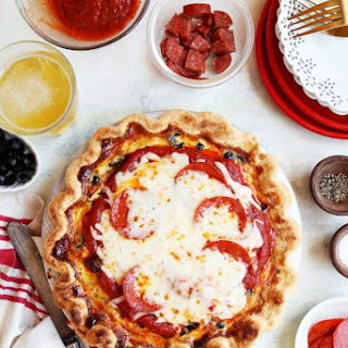 Supreme Pizza Quiche.