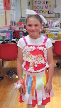 Photo: RECYCLED MATERIALS (Rainbow Dress)
