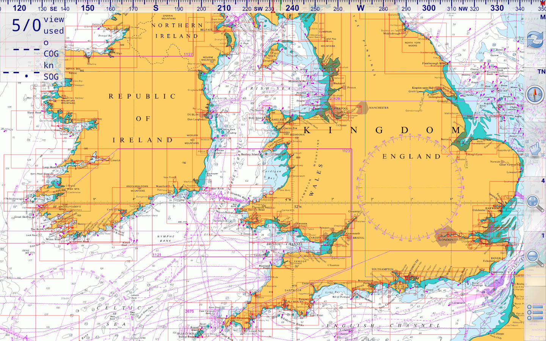 Marine Navigator - screenshot