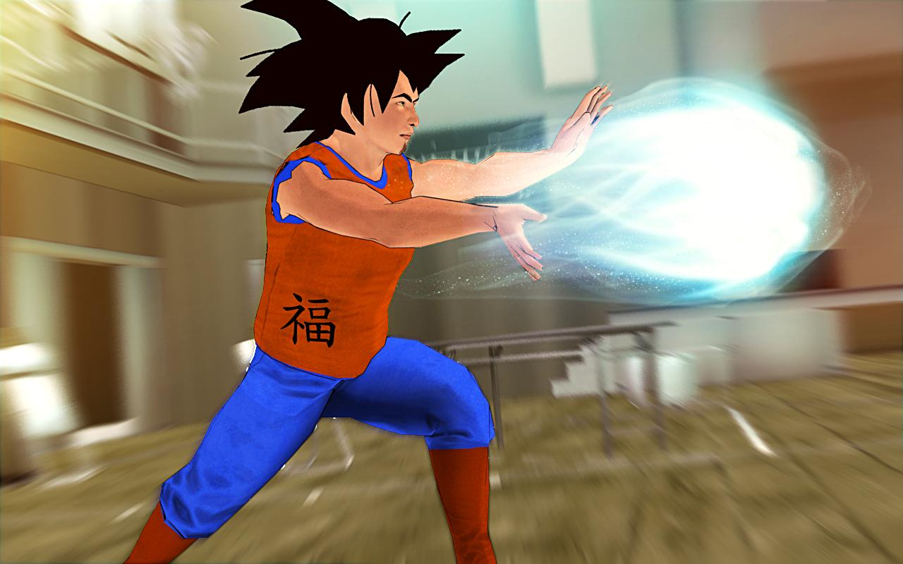 Goku Super Saiyan Dragon Ninja- screenshot