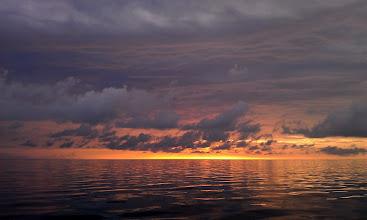 Photo: Sunrise over the Bahama Banks - June 4, 2013