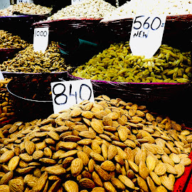 Dried fruits and nuts by Rebecca Pollard - Food & Drink Ingredients