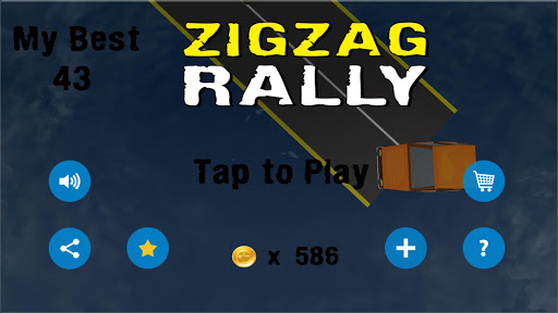 My Zigzag Rally Car Racer