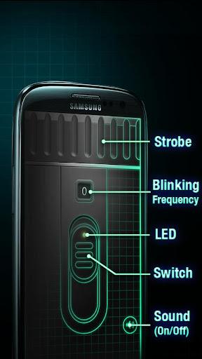 Super-Bright LED Flashlight screenshot 3