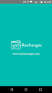 MyRecharges screenshot 0