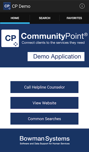 CommunityPoint Mobile App Demo