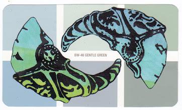 Photo: Wenchkin's Mail Art 366 - Day 126, card 126a