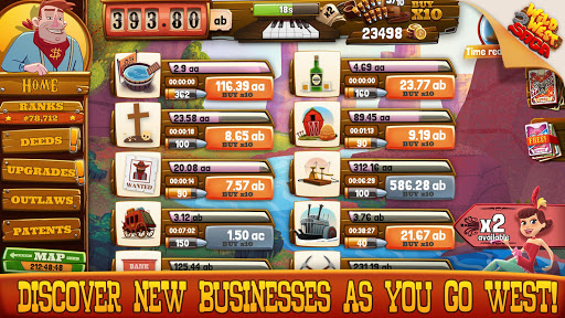 Wild West Idle Tycoon Tap Incremental Clicker Game  screenshots EasyGameCheats.pro 3